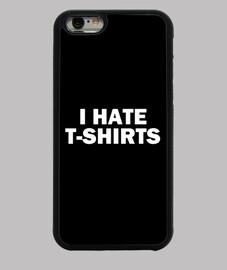 odio las camisetas