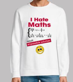 odio las matemáticas