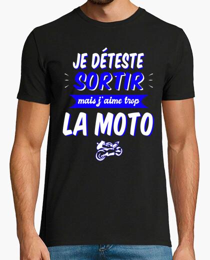 Camiseta Odio salir pero amo demasiado las...