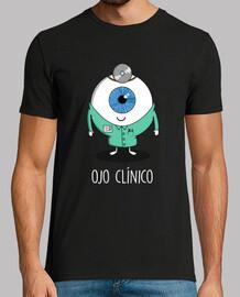 oeil clinique noir