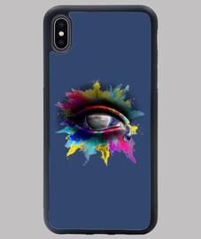 oeil de l' universe - étui iphone xs max