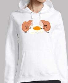 œuf déchiré