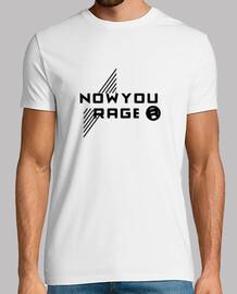 Official T-shirt - BLACK ON WHITE