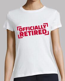 officiellement à la retraite