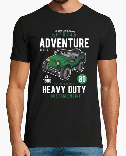 T-Shirt Offroad-Abenteuer
