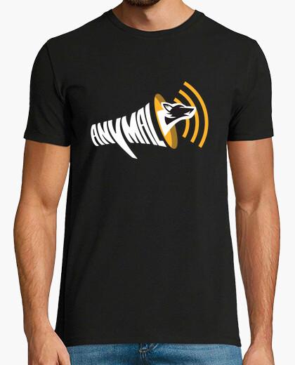 Camiseta oficial anymal - negro