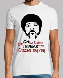 oh, ho 'm dispiace, mi rompo your concentrazione?
