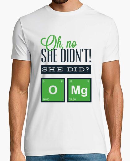 Tee-shirt Oh non elle ne l39a pas fait! elle a fa