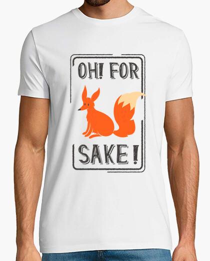 Tee-shirt oh pour le renard