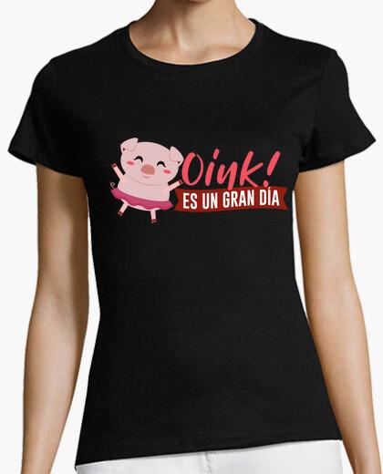 Oink è un grande giorno - t-shirt
