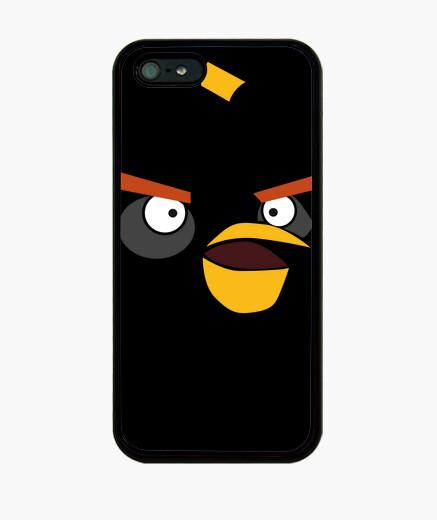 Coque iPhone oiseau noir