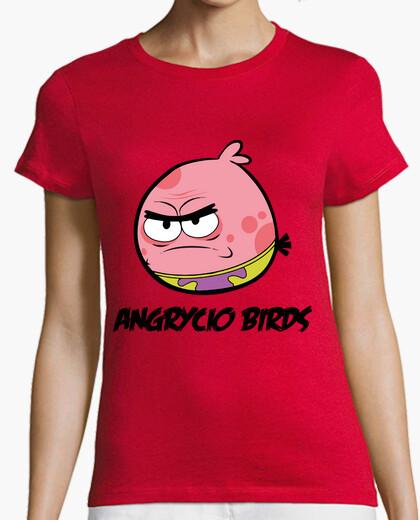 Tee-shirt oiseaux angrycio
