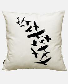 oiseaux volant - noir
