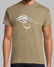 Ojo de Horus Blanco, Negro y Marron