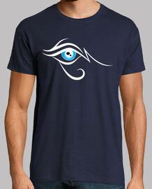 Ojo de Horus Blanco y Azul