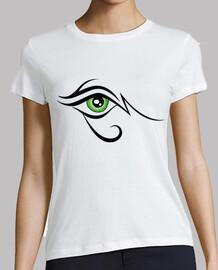 Ojo de Horus Negro y Verde