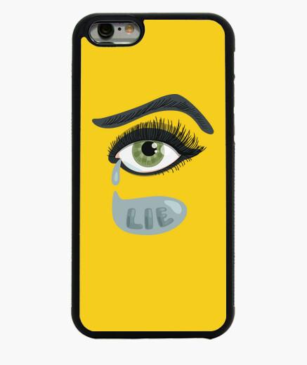 Funda iPhone 6 / 6S ojo verde acostado con lágrimas