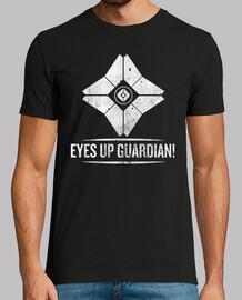 ojos hacia arriba, guardián!