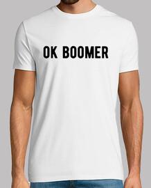 OK BOOMER tee shirt drole humour