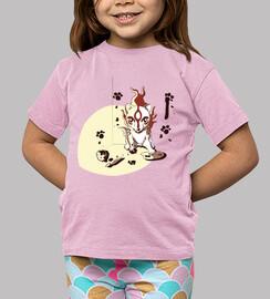 okami- art t-shirt child