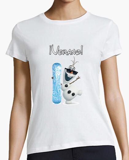 Camiseta Olaf 2 chica