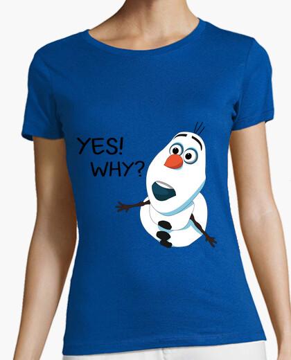 Camiseta Olaf (Frozen)