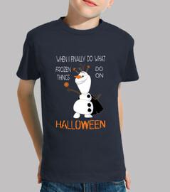 Olaf on Halloween - Niño