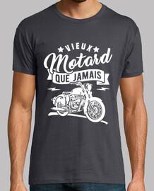 Old biker than ever