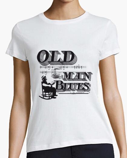 Old man blues t-shirt