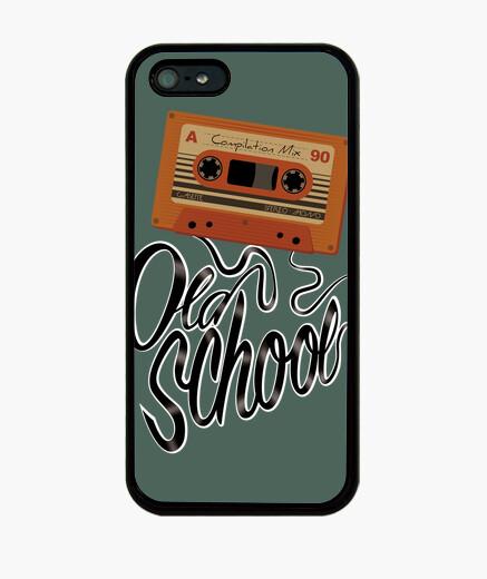 Funda iPhone old school cinta de casete  retro - casette