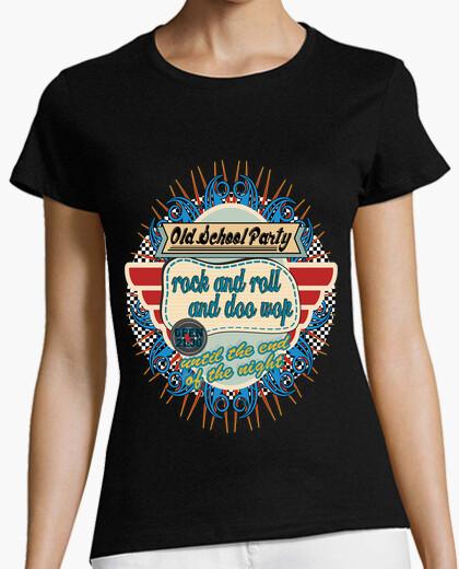 Camiseta Old School party