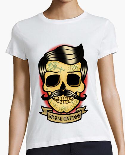 Camiseta Old skull !!!