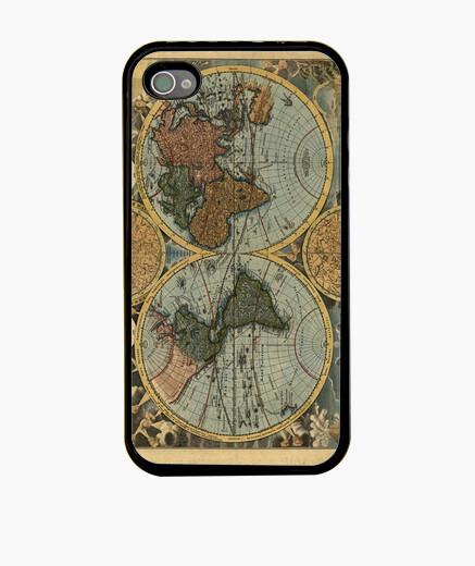 Funda iPhone Old World Map