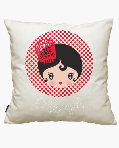 Ole black cushion cover