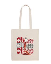 Ole Flamenca Tote bag L