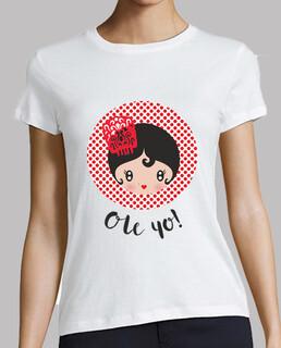 ole me! - woman, short sleeve, white, premium quality