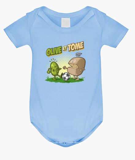 Vêtements enfant olive et prendre