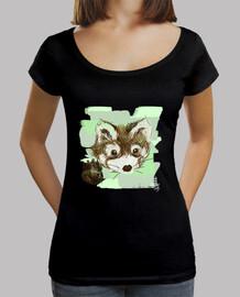 oliver - negro camiseta