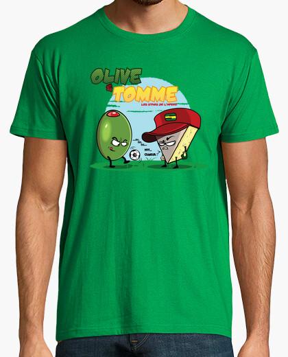 Camiseta olivos y tomme las estrellas del lapéro