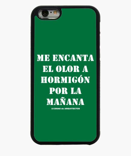 04924d7973c Funda iPhone 6 / 6S olor a hormigón - black - arquitectura - nº ...