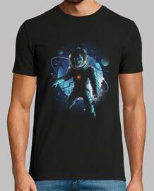 olvidado en el espacio camisa para hombre