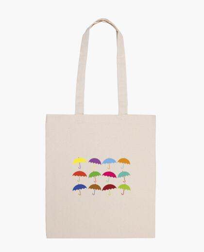 Borsa ombrelloni colorati