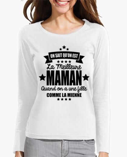 Tee-shirt on sait qu'on est la meilleure maman