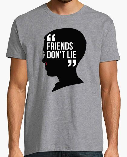 Camiseta Once - Los Amigos No Mienten (Stranger Things)