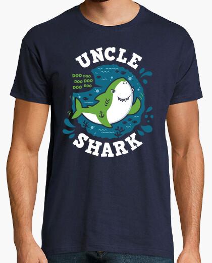 Tee-shirt oncle shark