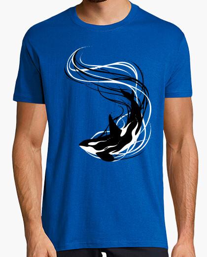 Camiseta Ondas de la orca de fantasía