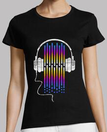 onde sonore rétro