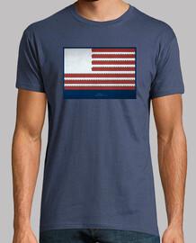 One  flag/denim/ chaval