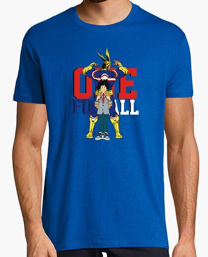 Camiseta One for All - Boku no Hero Academia