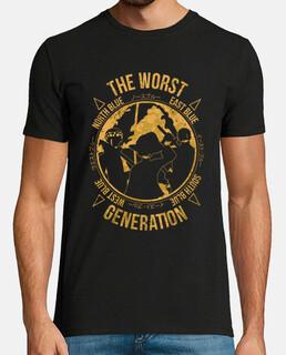 one piece - la peggiore generazione